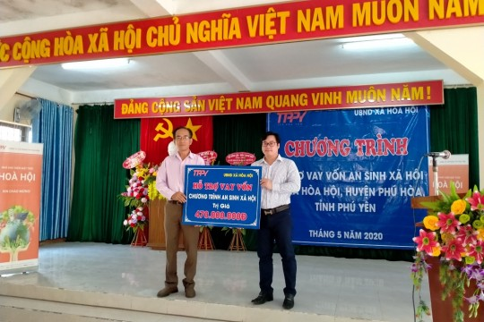 """TTP PHU YEN SUPPORT FOR SOCIAL PEOPLE OF THE ASSOCIATION """"COVID-19 CLIMATE: NO ONE WILL BE LEAVING BEHIND"""""""