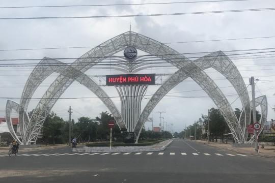 Công ty TTP Phú Yên tài trợ kinh phí xây dựng cổng chào huyện Phú Hòa