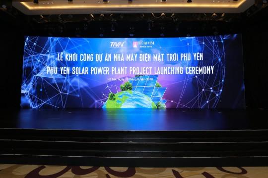TTP Phú Yên tổ chức lễ khởi công dự án Nhà máy ĐMT Hòa Hội