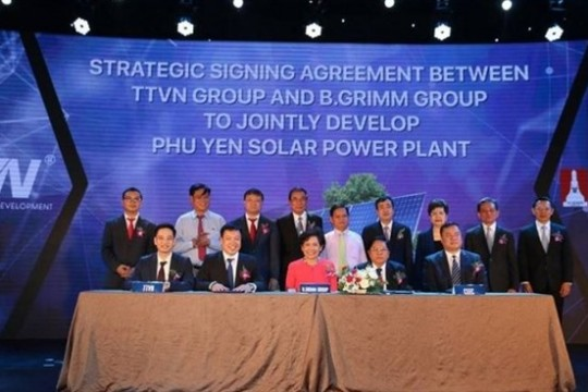 B.GRIMM GROUP (THAILAND) SUCCESSFULLY PURCHASES PHU YEN TTP CORPORATION