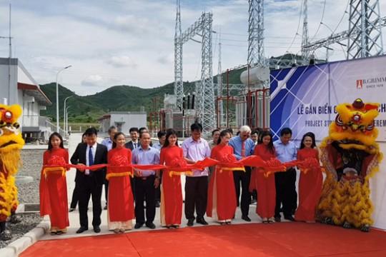 Khánh thành nhà máy điện mặt trời Hòa Hội