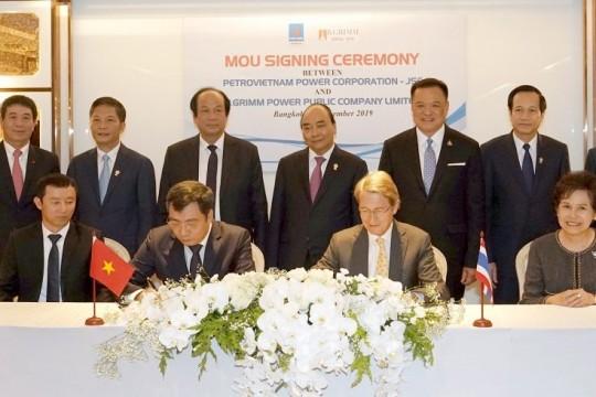 PV Power ký Biên bản ghi nhớ Hợp tác đầu tư với B.Grimm Power ( Vương quốc Thái Lan)